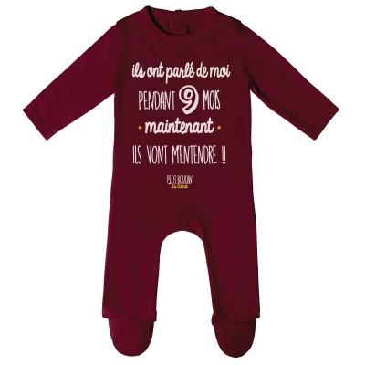 "Pyjama ""9 mois"""