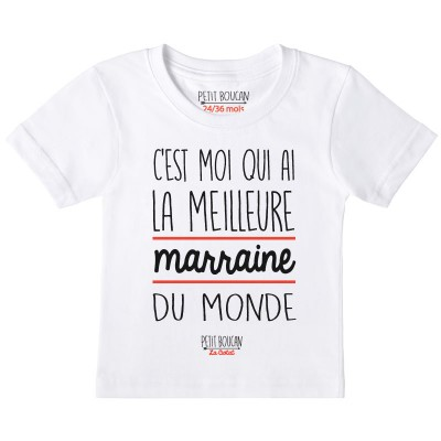 "T-shirt ""Marraine"""