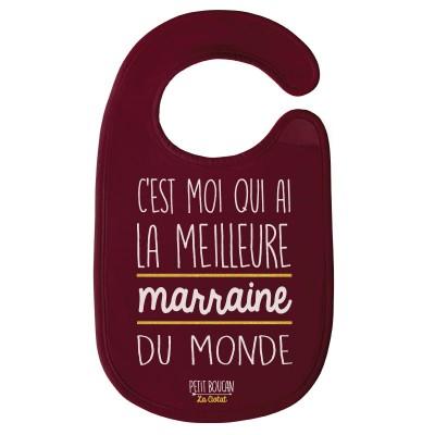 """Bavoir """"Marraine"""""""