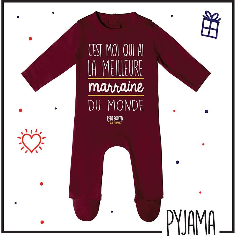 Pyjama bébé à message imprimé à La Ciotat